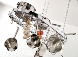 Stainless steel is lightweight and durable.