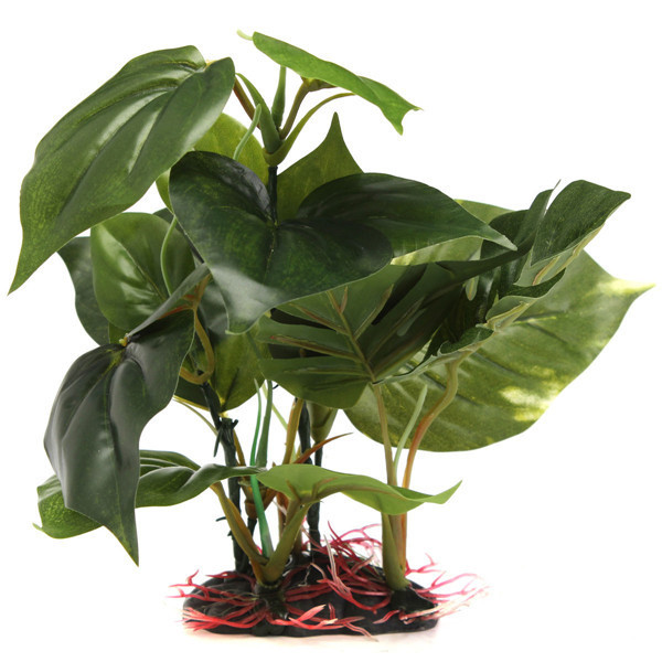 3D Green Artificial Plastic Aquarium Plant