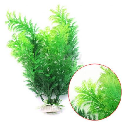 Green Artificial Aquarium Plant (30cm)