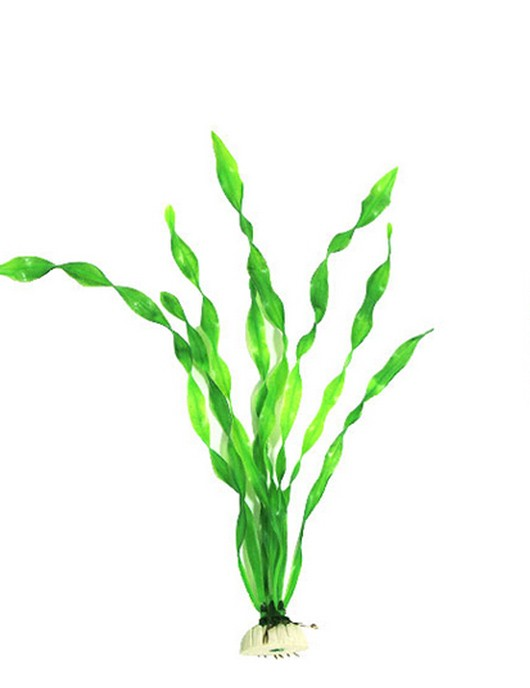 Tall Artificial Aquarium Plant (Green)